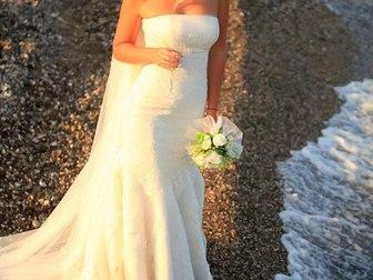 Скачать изображение  Продам брендовое свадебное платье от итальянского дизайнера 40255214 в Москве