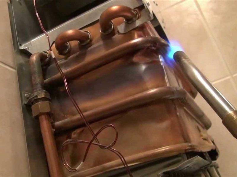 теплообменник для банной печи фото