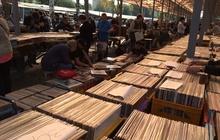 15000 фирменных виниловых пластинок из Стокгольма