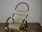Фото в Мебель и интерьер Столы, кресла, стулья Плетеное кресло-качалка или кресло из лозы в Новокузнецке 7800