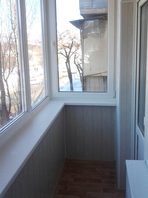 Новороссийск - отделка лоджий балконов.