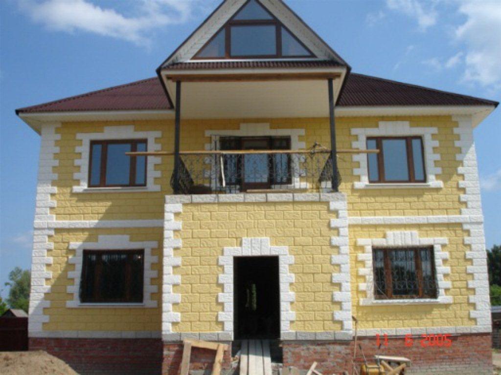 Дом своими руками из теплоблоков
