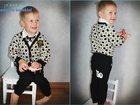 Фото в Для детей Детская одежда Чудесный солидный костюм с кардиганом и с в Новосибирске 2150