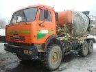 Смотреть фотографию Автокран Автобетоносмеситель 69360К на шасси Камаз 43118-10 32622421 в Новосибирске