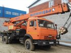 Смотреть фото Кран Автокран 16т, 18м, на базе КАМАЗ 32942201 в Новосибирске