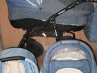 Фото в Для детей Детские коляски Польская коляска. Очень удобная. Высокая, в Новосибирске 11000