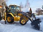 Смотреть изображение  Вывоз снега,услуги современного экскаватора-погрузчика Volvo,Камазов 34934827 в Новосибирске