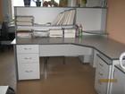 Смотреть фотографию  Офисная мебель б/у в отличном состоянии 35798701 в Новосибирске