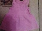 Свежее фотографию Детская одежда Продам вязанный сарафан на 2-3 годика 36904002 в Новосибирске