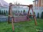 Смотреть foto Отдам даром - приму в дар Качели деревянные 39239320 в Новосибирске