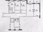Продается четырехкомнатная квартира на четвёртом этаже. Прос