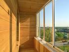 Увидеть фотографию Двери, окна, балконы Установка балконов, лоджий под ключ с утеплением и без, евровагонка, МДФ панели и т, д, 66485883 в Новосибирске