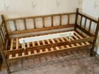 Кровать деревянная 70*160