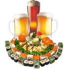 Магазин пива, суши и выпечки