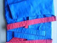 Форма для самбо (куртка, шорты, борцовки) Новая. Двусторонняя.
