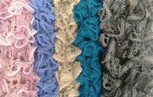 Ажурные шарфики ручной работы