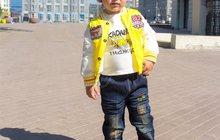 Яркий желтый костюм с курткой для мальчиков на 2-4 года