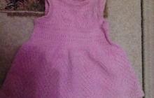 Продам вязанный сарафан на 2-3 годика