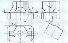 Инженерная графика: работы, чертежи, экзамены