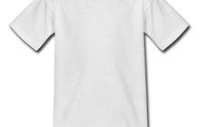Белые футболки для сублимации