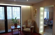 Просторная уютная, светлая и очень солнечная квартира. ждёт