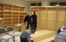Разбор торгового оборудования,сборка мебели