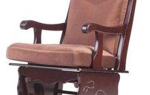 Кресло качалка из массива бука