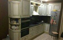 Кухня с фасадами мдф патина
