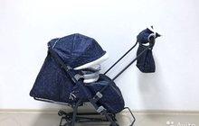 Санки коляска Ника 7 новая модель
