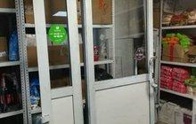 Дверь металлическая входная б/у