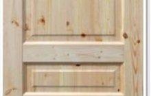 Полотно дверное деревянное