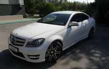 Mercedes-Benz C-класс 1.6AT, 2013, 160000км