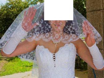 Новое изображение Свадебные платья Красивое Свадебное платье 46-52р 32797733 в Новосибирске