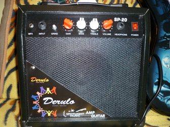 Скачать бесплатно фото Музыка, пение продам новую электрогитару с усилителем 32803219 в Новосибирске