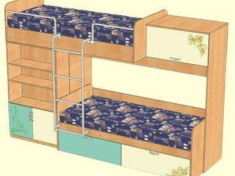 Скачать изображение  кровать 2-х ярусная, 32864470 в Новосибирске