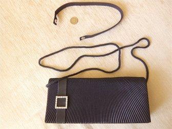 Увидеть фото Аксессуары сумка клатч черный 32888164 в Новосибирске