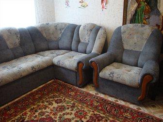 Смотреть фото Мужская одежда Продам угловой диван и кресло 33049219 в Новосибирске