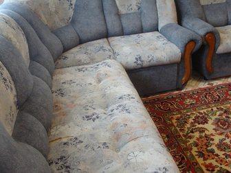 Смотреть foto Мужская одежда Продам угловой диван и кресло 33049219 в Новосибирске