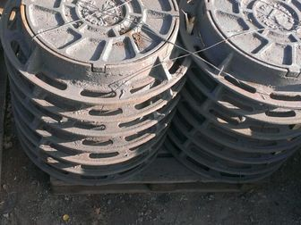 Новое foto Строительные материалы Люк канализационный тип Т Гост 3634-99 33115764 в Новосибирске