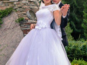 Смотреть изображение Свадебные платья Красивое свадебное платье 33594285 в Новосибирске
