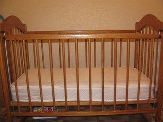 Свежее изображение  Детская кроватка 34519652 в Новосибирске