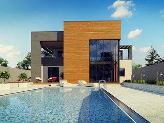 Скачать бесплатно фотографию Строительство домов Проектирование, Строительство под ключ, Таун Хаузы, коттеджи, загородные дома, 34659200 в Новосибирске