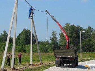 Скачать foto Другие строительные услуги Монтаж ЛЭП 34671129 в Новосибирске