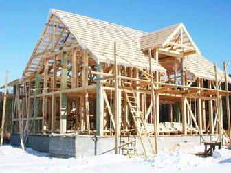 Просмотреть фотографию  Строительство домов, бань, дачь, установка заборов, 35286851 в Новосибирске