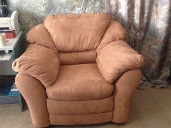 Новое фотографию  Набор мягкой мебели, Диван раскладной и два кресла 35392751 в Новосибирске