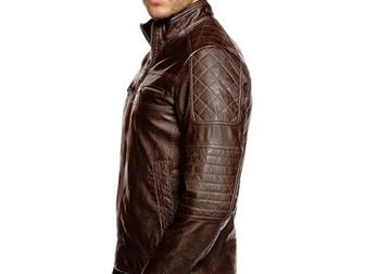 Смотреть фотографию  Мужская кожаная куртка 37533168 в Новосибирске