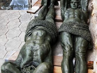 Просмотреть фото Другие предметы интерьера атлант Эрмитаж, украшение входа, дверного проема, стен, 37581816 в Новосибирске