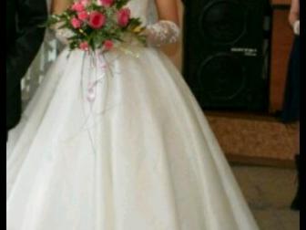 Свежее foto  Шикарное свадебное платье 37692606 в Новосибирске