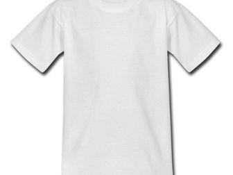 Уникальное изображение Разное Белые футболки для сублимации 37709256 в Новосибирске