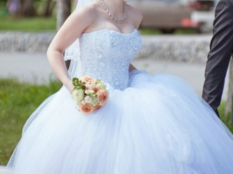 Просмотреть фотографию Свадебные платья Свадебное платье в отличном состоянии 37787316 в Новосибирске